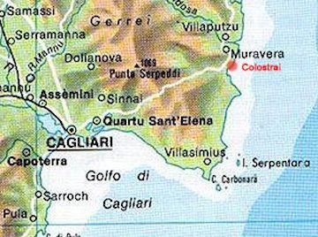 Karte Sardinien Süden.Das Ferienhaus Sardinienurlaub